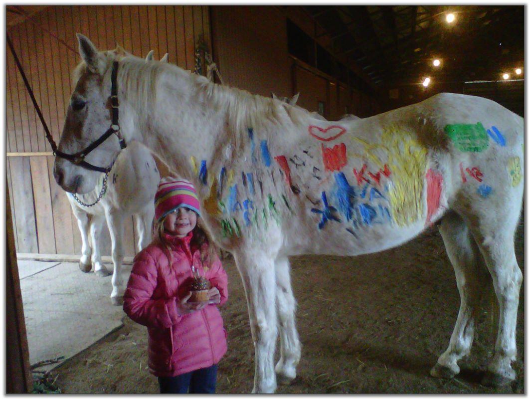 Peavine Creek Saddlebred Horse Farm Pony Parties for kids ...
